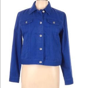 Ralph Lauren Lauren Jeans Co Royal Blue Jacket PL